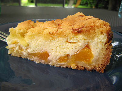 Pfirsich-Quark-Kuchen